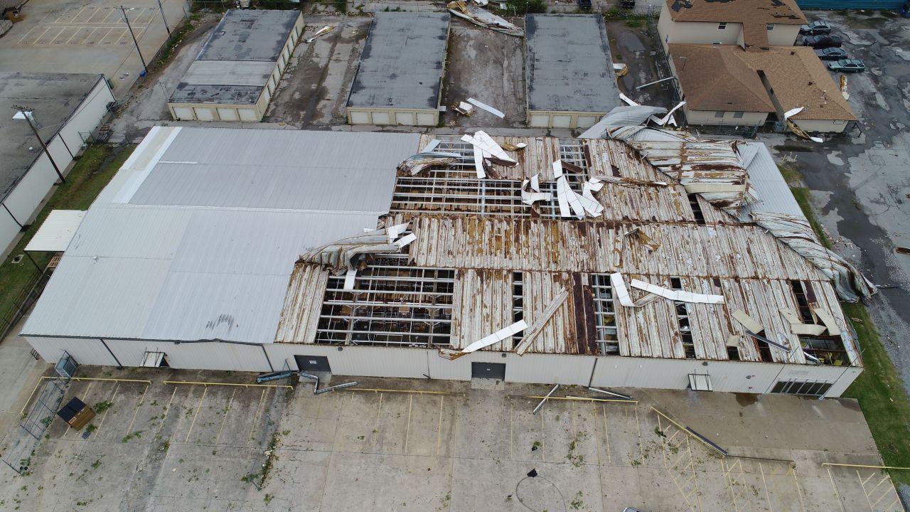 Tornado at work